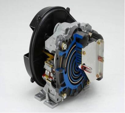 无油涡旋压缩机核心部件